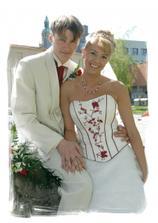 šťastná novomanželata :-)