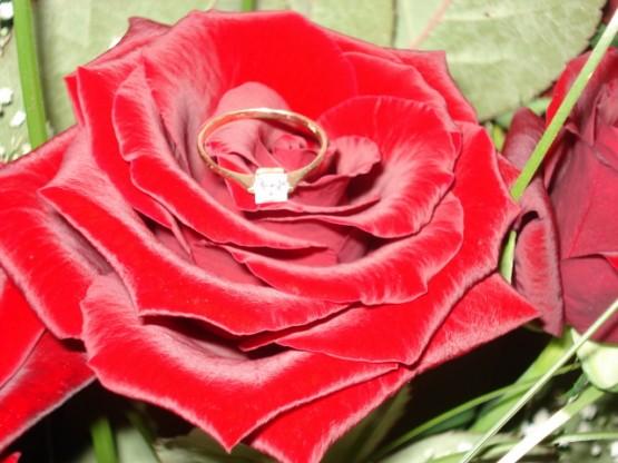 My dreams - ...môj zásnubný...(7.7.07), dostala som ho na naše prvé výročie :)