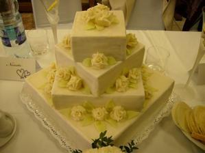Svadobná torta 1
