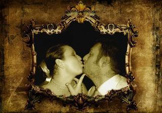 Fotka do pasparty obrazu - varianta svatební knihy ..