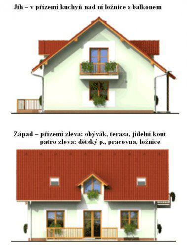 Domeček - Projekt našeho domečku po prvé ...