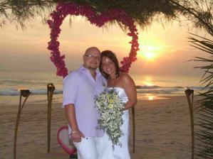 romantika při západu slunce..