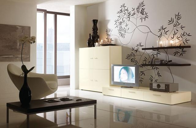 Obývacie izby v geometrických tvaroch - Obrázok č. 5