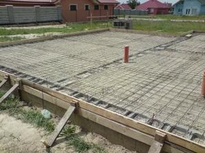 zašalované pripravené na betonáž