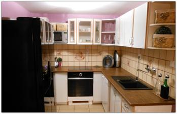 trošku vynovená kuchyňa :)
