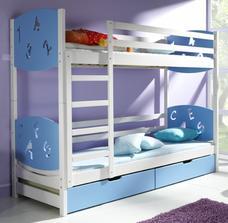 Takuto postel sme objednali pre maleho :) už sa teším ked mu príde :)) naročky som objednala poschodovu lebo u nas je stale niekto tak aby mali kde spat :)