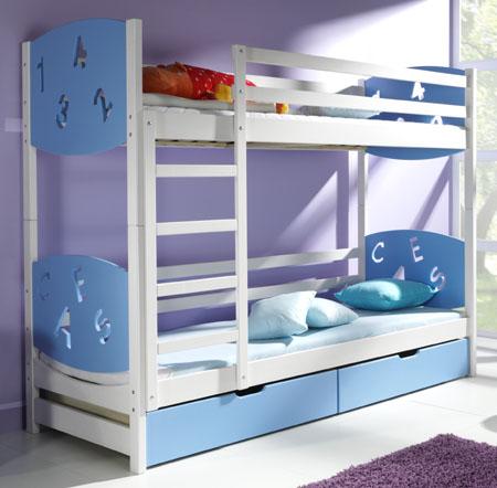 Náš 100 rokov starý domček :) - Takuto postel sme objednali pre maleho :) už sa teším ked mu príde :)) naročky som objednala poschodovu lebo u nas je stale niekto tak aby mali kde spat :)