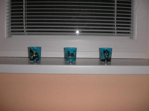 nove svietniky v detskej izbe :)