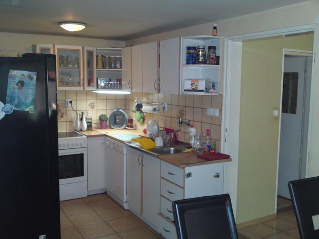 Náš 100 rokov starý domček :) - prosím vás poradte mi akú farbu stien mám dať? Rozmýšlam nad zelenou alebo fialovou