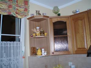 Moja vytúžená kuchyňa, po škaredej v byte to bolo ako splnený sen.
