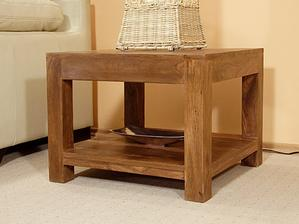 konferenční stolek plus tenhle menší,ve stejném dekoru