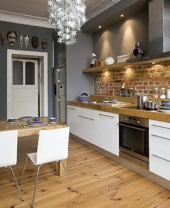 Kuchyně - Krásná kombinace barev.Vše v barevné harmonii,to se mi moc líbí...