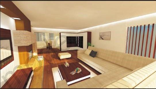 Obývací pokoj - Pohled ke kuchyni