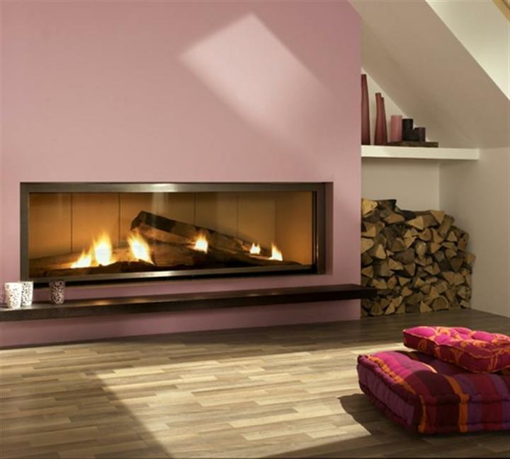 Obývací pokoj - Mame vybrano-Brunner krb: )