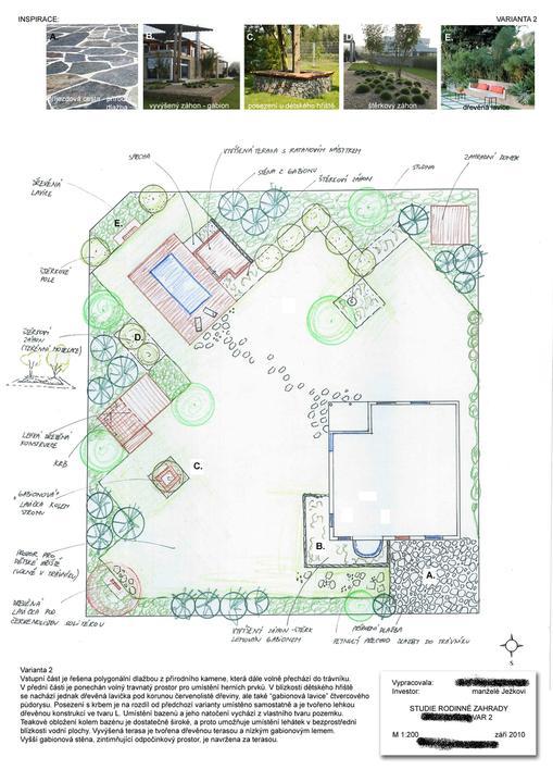 Zahrada - Navrh zahrady :)