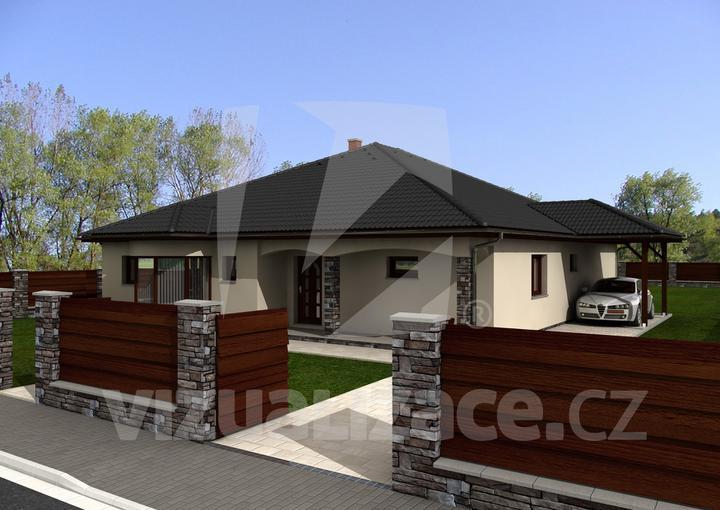Exterier puvodniho domu+pristavba k domu :) - Obrázek č. 2