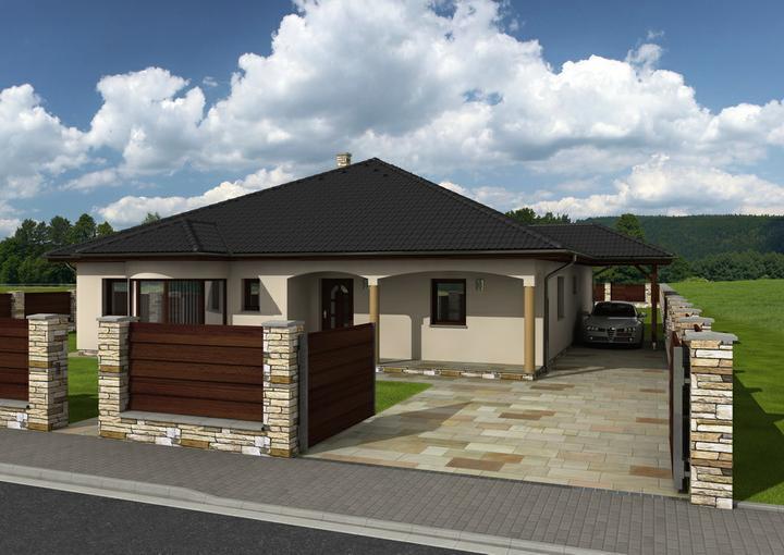 Exterier puvodniho domu+pristavba k domu :) - Obrázek č. 5