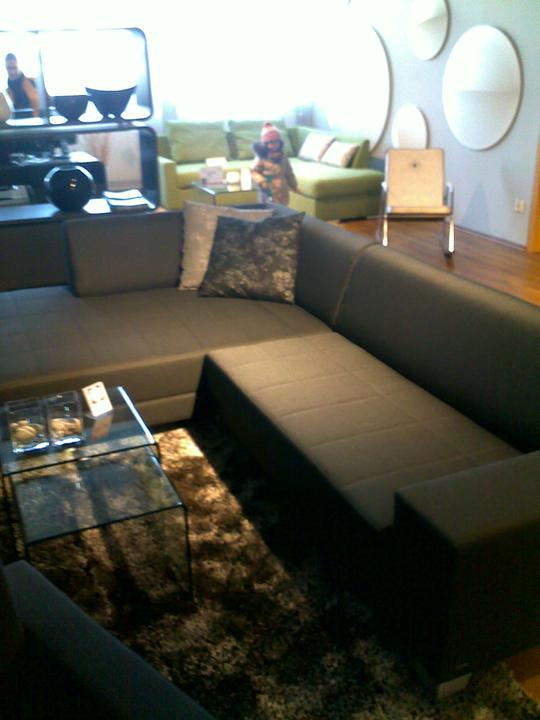 Obývací pokoj - Foceno v prodejne...