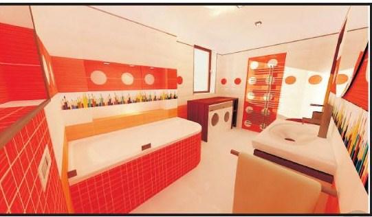 Detská koupelna - Verze 2: nika u vany