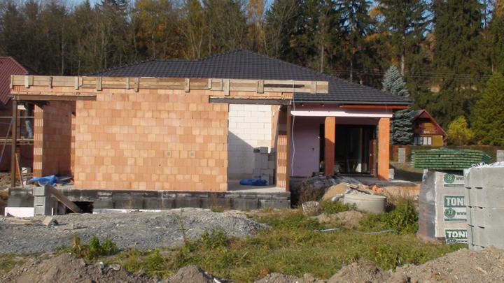 Exterier puvodniho domu+pristavba k domu :) - Obrázek č. 24