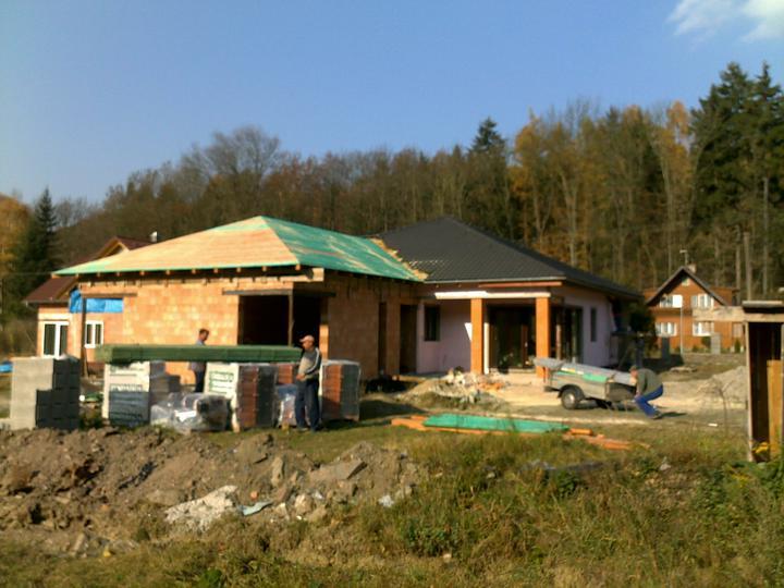 Exterier puvodniho domu+pristavba k domu :) - Obrázek č. 31