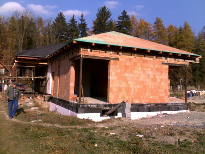 Exterier puvodniho domu+pristavba k domu :) - Obrázek č. 33
