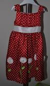 Slávnostné šaty pre dievčatko vo veku 4 roky, 98