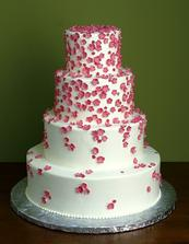 kytičky na dortu pro Petanu