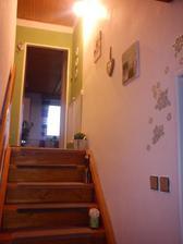 Puvodní barva schodiště