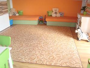 Budoucí obývací pokoj