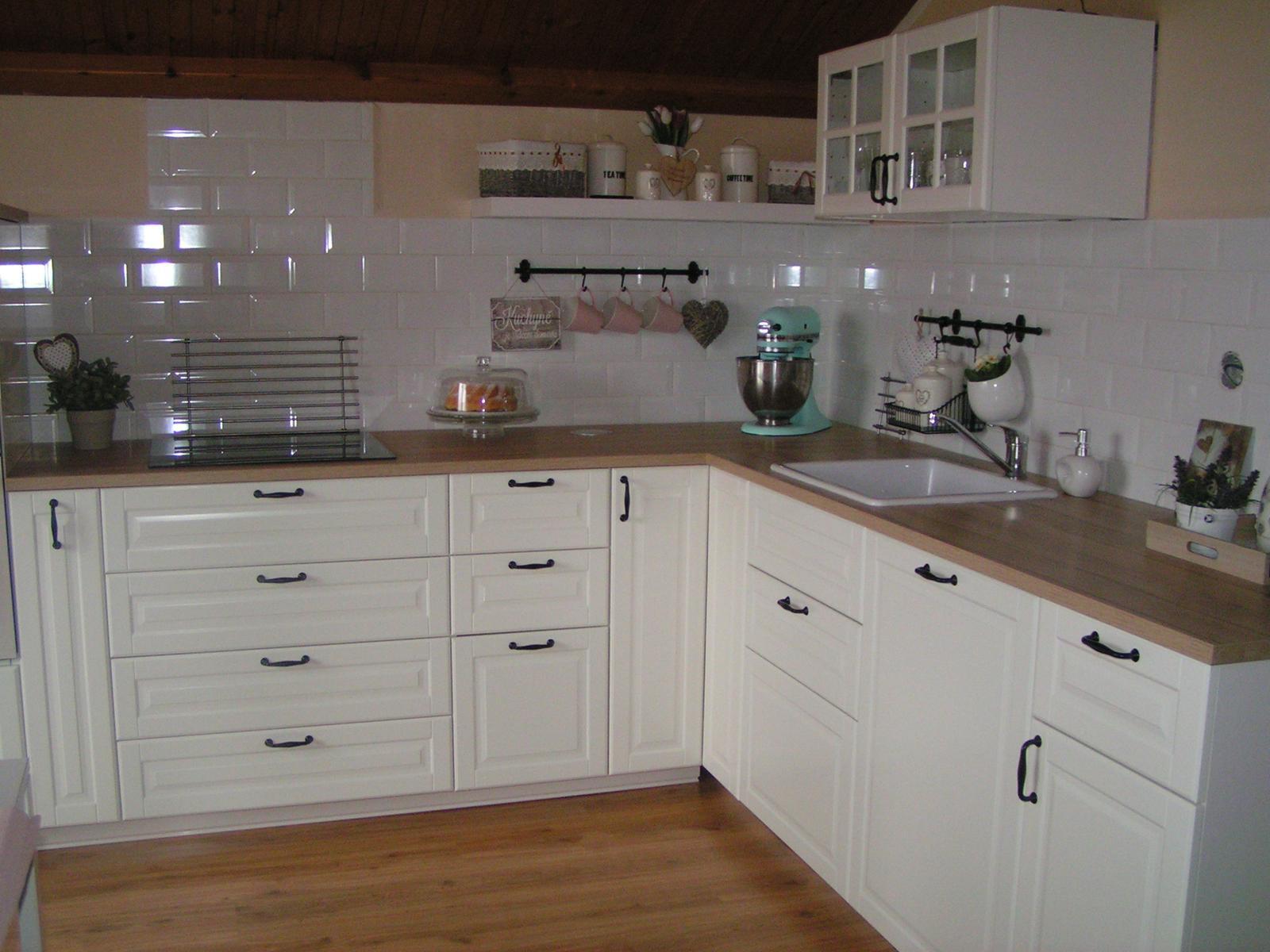 Můj sen,moje kuchyň - na tohle si zvyknu rychle a ráda