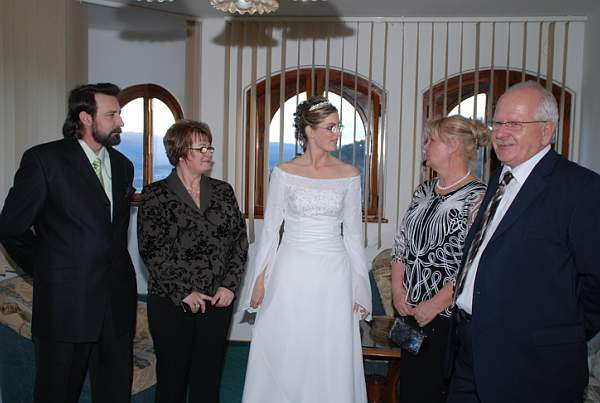 Zuzana Lysa{{_AND_}}Peter Kleberc - moji rodicia a moji novi rodicia....dakujeme za vsetko...:-)