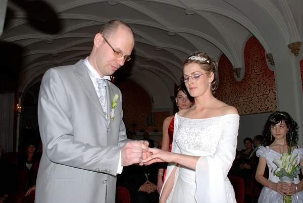 Zuzana Lysa{{_AND_}}Peter Kleberc - vymena prstienkov