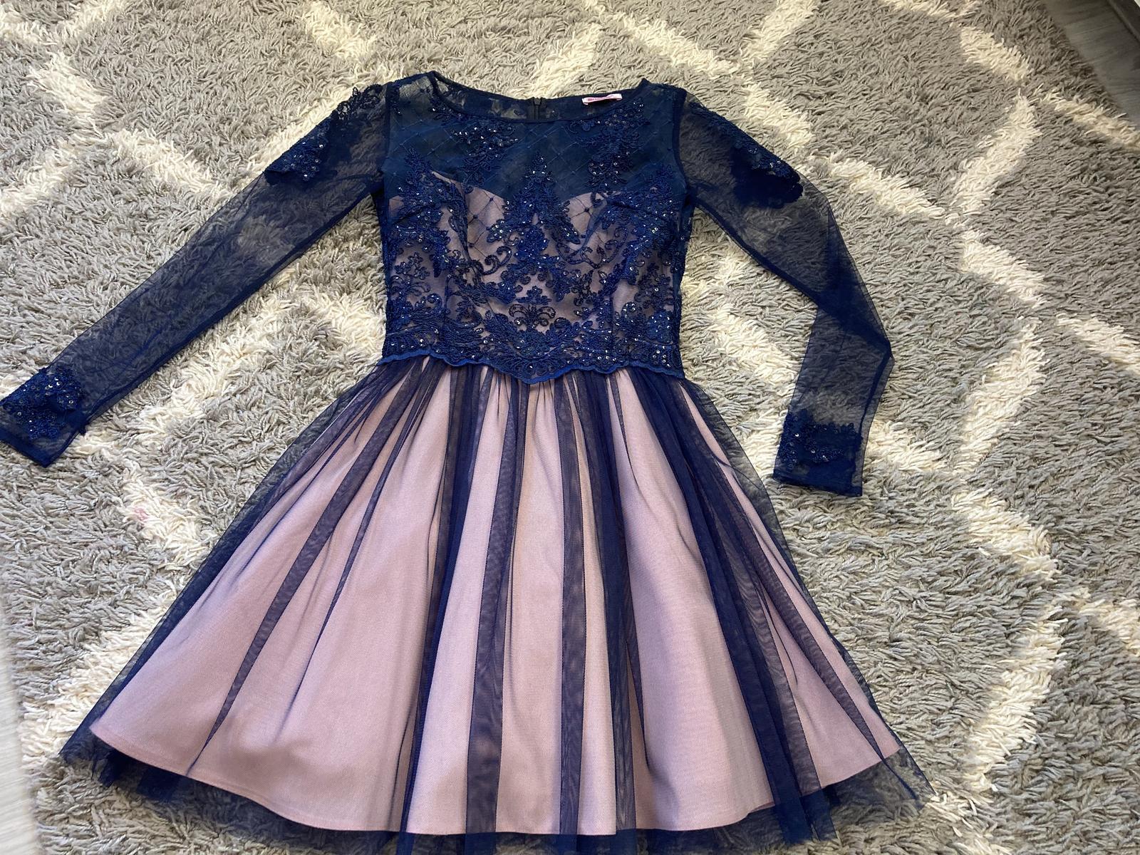Elegantne šaty 36 - Obrázok č. 2