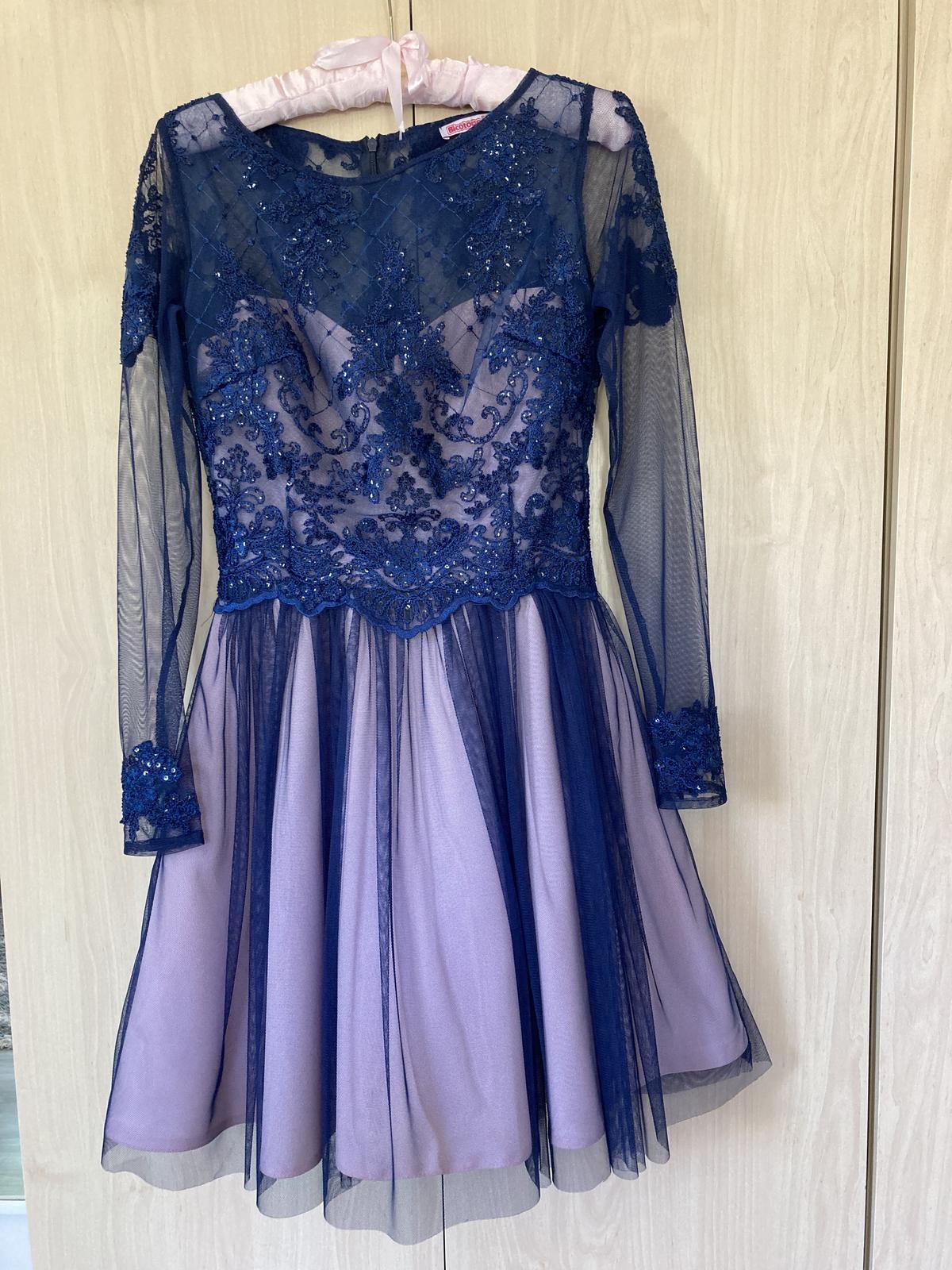 Elegantne šaty 36 - Obrázok č. 1