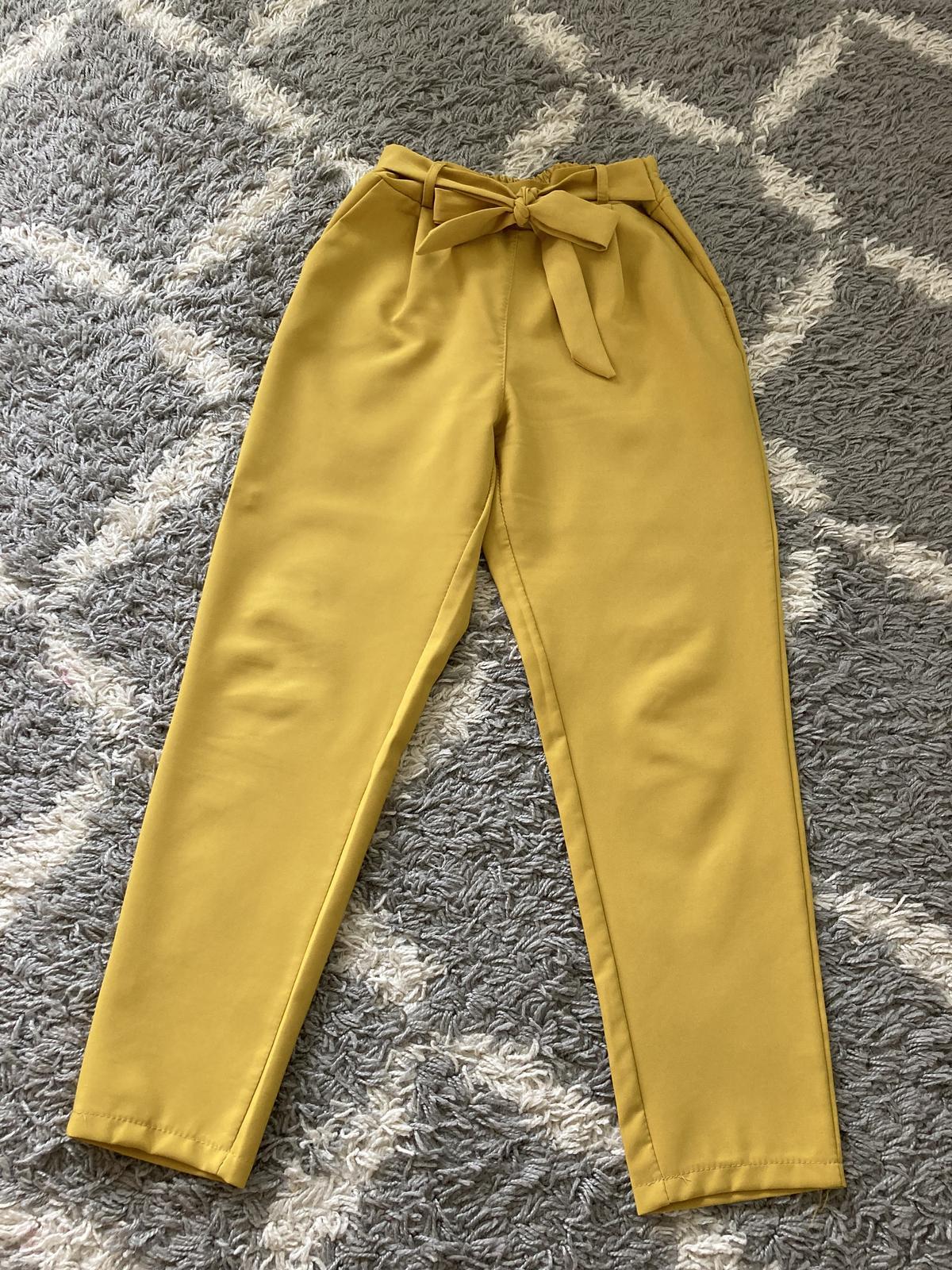 Horčicové nohavice - Obrázok č. 1