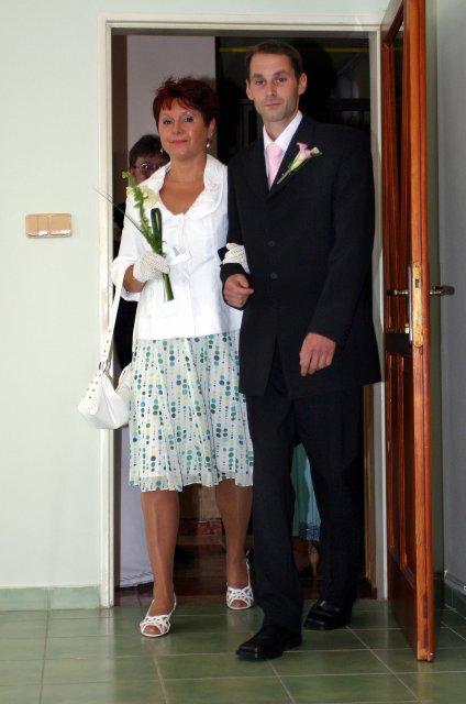 Ivana{{_AND_}}Milan Jandourkovi - zenich s maminkou