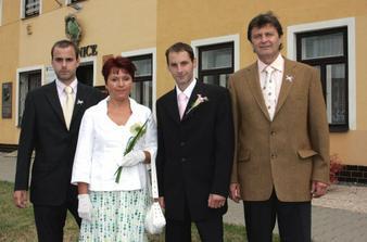 manzel s rodinou