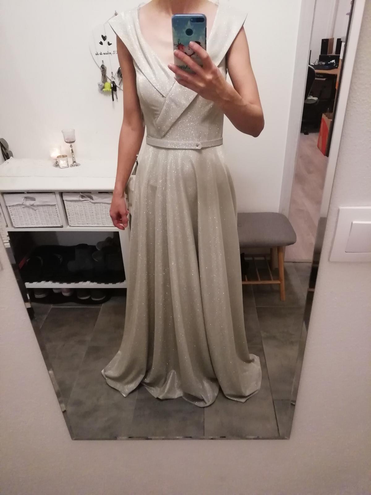 Trblietavé šaty Fervente 34-36 - Obrázok č. 2