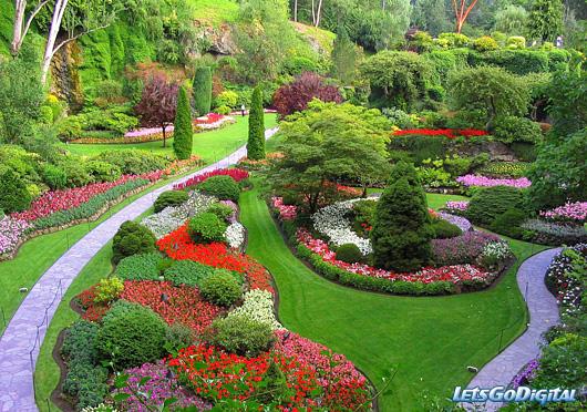 Plány pre našu budúcu záhradu - tak toto je ideál.... takáto naša záhrada teda určite nebude, ale aj tak sa budem snažiť aby bola krásna - hlavne pre nás...