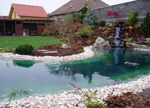 Plány pre našu budúcu záhradu - tak toto je naozaj krásne jazierko