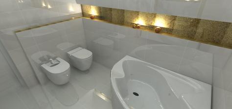 konečná podoba kúpelne - takto