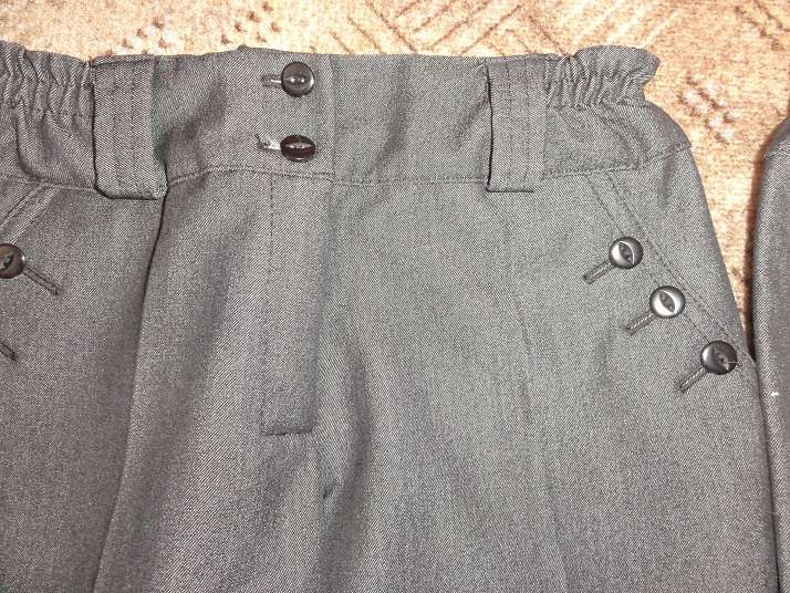 Elegantné nohavice (dĺžka 83 cm) - Obrázok č. 2