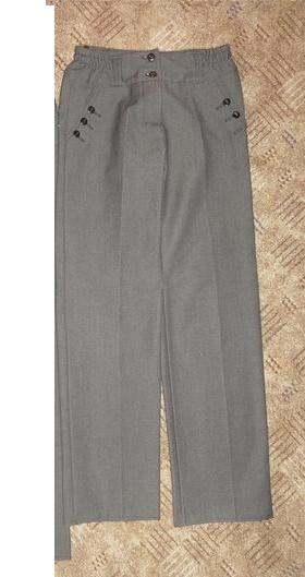 Elegantné nohavice (dĺžka 83 cm) - Obrázok č. 1