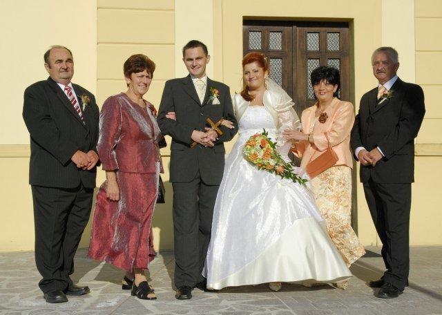 Stanka Klembarová{{_AND_}}Dušan Lauko - s rodičmi ako komplet rodinka