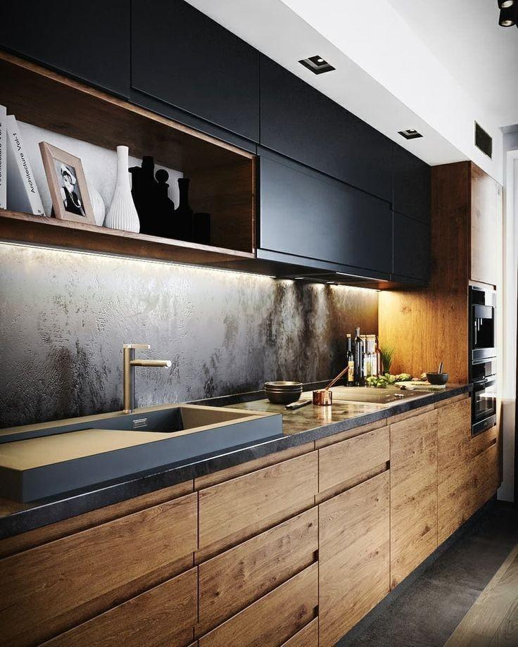 Vybírám kuchyn... Zase asi vyhraje dřevo s černou.. - Obrázek č. 6