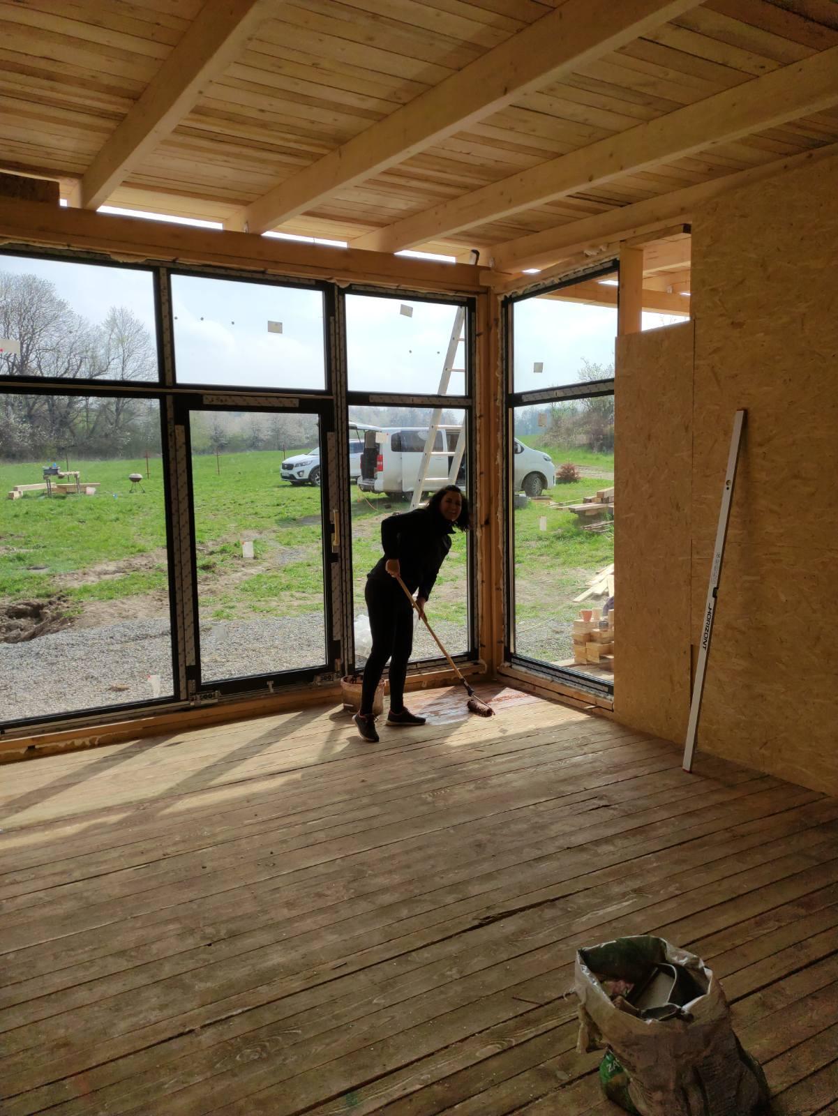 Jak bydlet za 3 měsíce - 1.květen.... Jupiiii máme okna