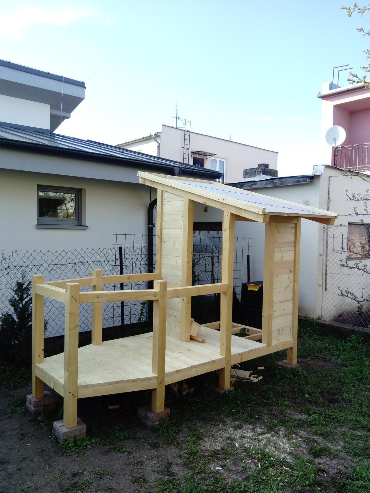 Detský domček (vo výstavbe) - Obrázok č. 9