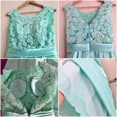 Spoločenské šaty- raz oblečené + doplnky, bločky, M