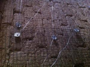 Rablicove pletivo na hlinenu tehlu